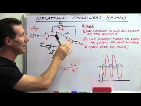EEVblog #600 - OpAmps Tutorial - What is an Operational Amplifier?