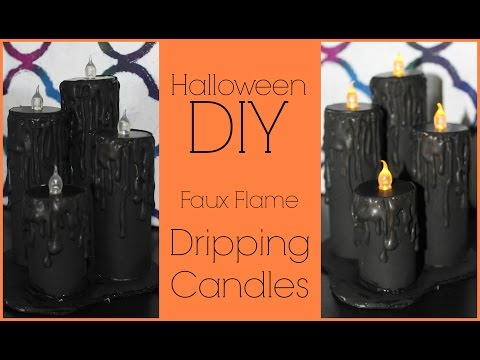 DIY: Dripping Candles ♡ {#HalloweenWithJess} ♡ Jessica Joaquin