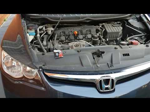 How to change Honda Civic FD Dim Parker Light Wedge W5W Bulb