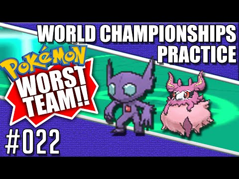 My Favorite Horrible Team - Pokemon World Championships Practice 022