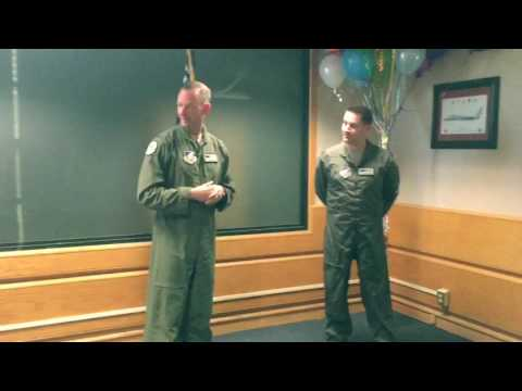 Promotion Ceremony for Major Michael