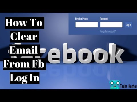 How To Delete Email From Facebook Log In Page