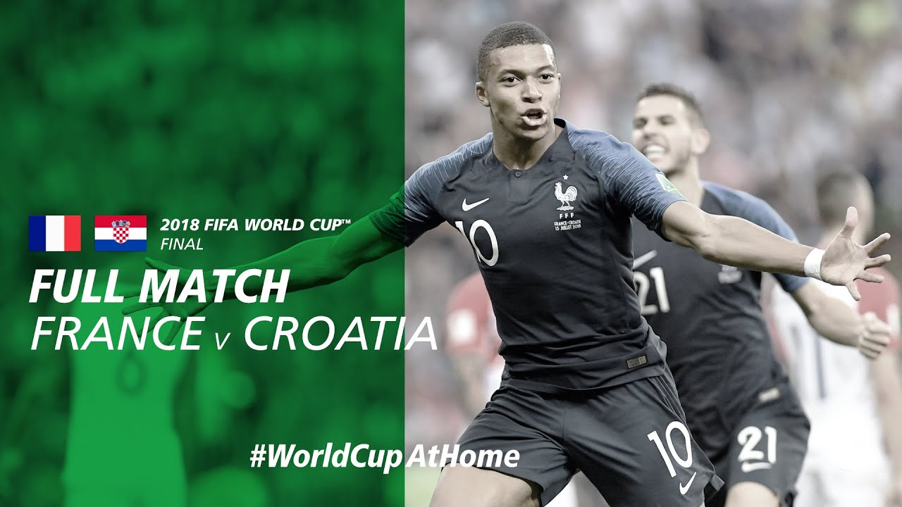 France v Croatia | 2018 FIFA World Cup Final | Full Match