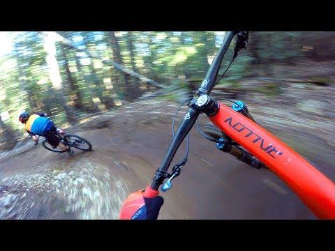 BIRDS OF A FEATHER FLOW TOGETHER | Mountain Biking Demo Forest in Santa Cruz