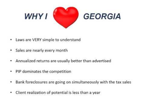 Tax Deeds - Georgia