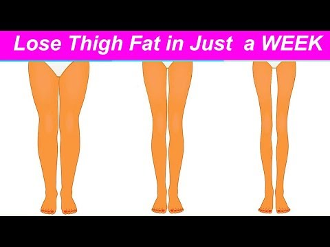 3 Simple Steps to Lose Thigh Fat in a Week (how to lose thigh fat fast)