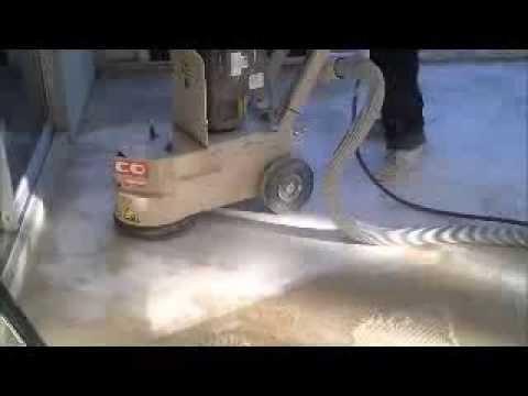 Glue Removal - Patio