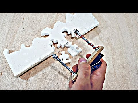 How To Make Hot Wire Foam Cutter-Battery powered