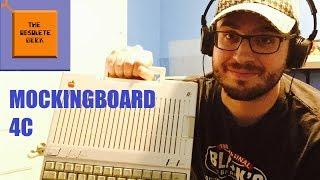 The Mockingboard 4C for the Apple IIc - Obsolete Geek