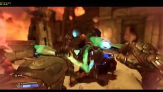 DOOM GTX 1070 Xtreme Gaming Gameplay 1440p Nightmare Settings