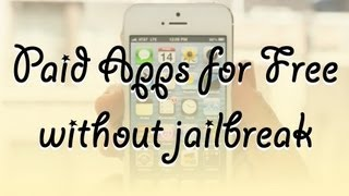 Get Paid Apps For Free Without Jailbreak Like Installous Works On Ios