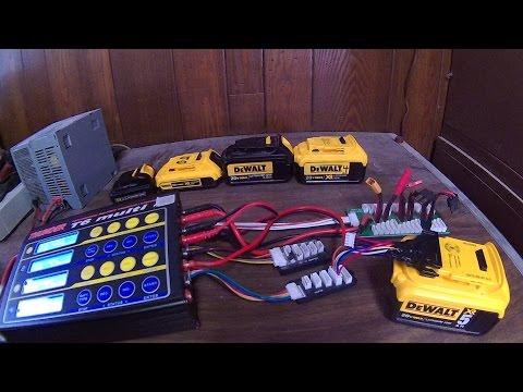 DeWalt 12v/20v Max Battery custom charging