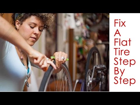 Fix Flat Bicycle Tire - A Tutorial