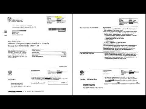 IRS Form CP504b