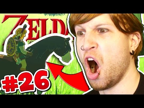 HOW TO TAME WILD HORSES!! ✪ Scythe Plays Zelda Breath of the Wild #26