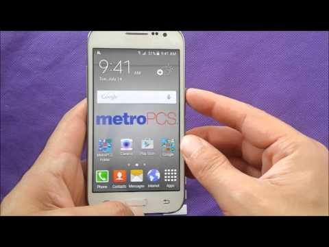 Samsung Core Prime take screenshot For Metro Pcs\T-mobile