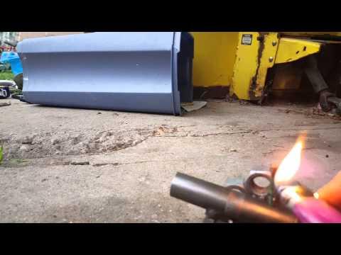 Miniature homemade cannon