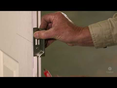 How to Install a Rebated Tubular Latch on French Doors - Tutorial Video by Tradco