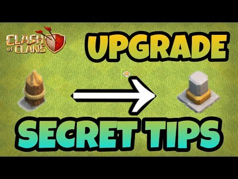 UPGRADE YOUR WALLS VERY FAST (BEST TIPS) 2017 IN HINDI || CLASH OF CLANS