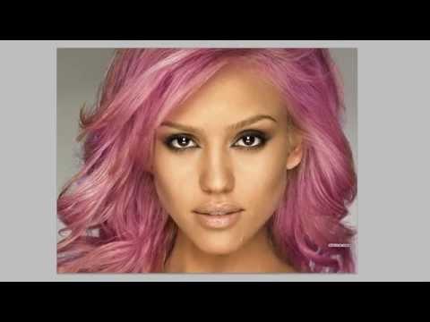 Photoshop CS6 & CC - Changing Hair Colour - Tutorial