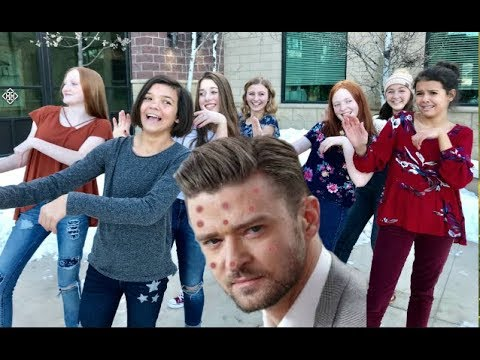 JUSTIN TIMBERLAKE - Can't Stop The Feeling! PARODY CAN'T STOP THIS ACNE!