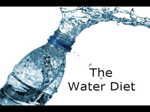 The Best and Most Efficient Water Diet, Lose One Pound Every Day 100% Guaranteed!