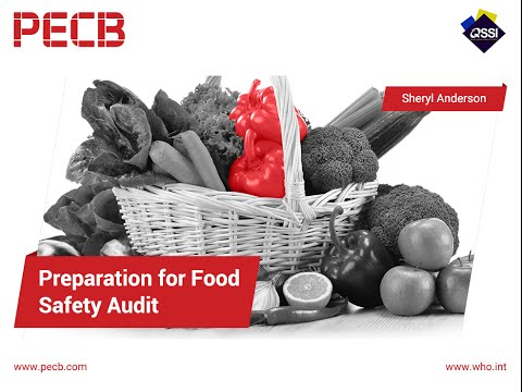 Preparing for your Food Safety Audit