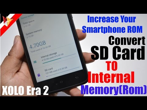 How to Convert Micro SD Card into Internal ROM of Your Smartphone | Data Dock