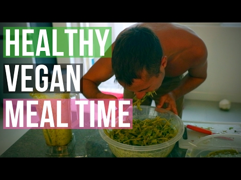 HEALTHY VEGAN MEAL TIME // FUN DINNER RECIPE