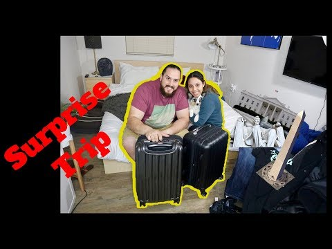 SURPRISING MY FIANCE WITH A TRIP TO WASHINGTON D.C.!!!! (Part 1)