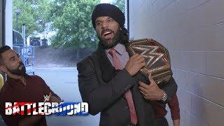 WWE Champion Jinder Mahal exudes confidence as he arrives at WWE Battleground: July 23, 2017