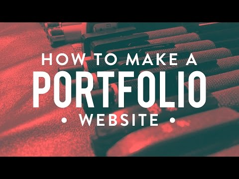 How To Make A Portfolio Website