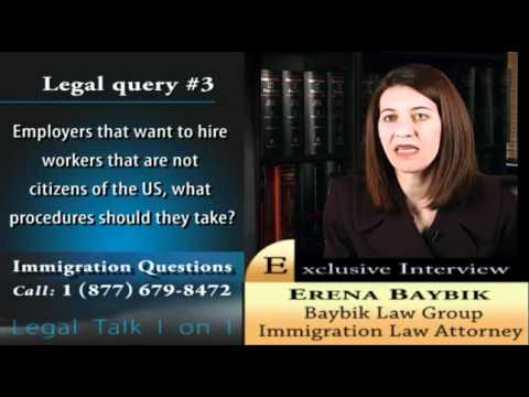 Miami immigration attorney Erena Baybik addresses work visas