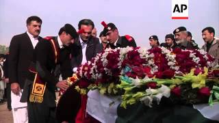 Funeral for senior regional politician killed in Saturday