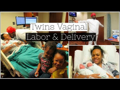 Twins Vaginal  Labor And Delivery Vlog | Water Broke At 35 Weeks