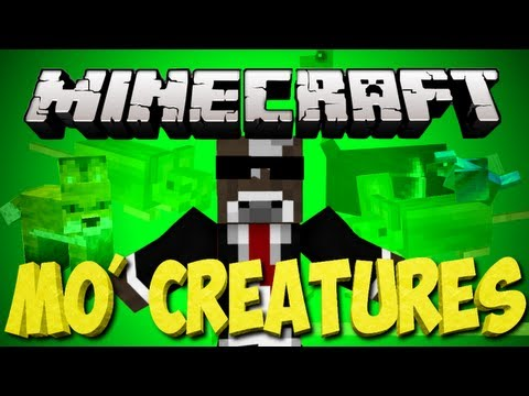 Minecraft: MO Creatures Lets Play   Baby Tiger Pet   Ep. 75