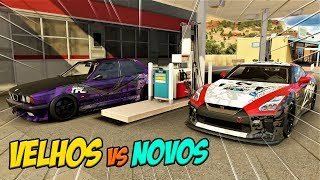 Velhos Vs Novos - Nissan Gt-r Vs Bmw M5 - Forza Horizon 3 Online - Zoioogamer