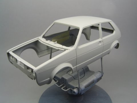 How To: Prepare the body of your scale model before paint