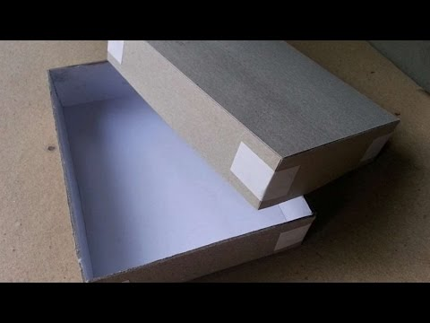 How To Make Easy Cardstock Gift Box - DIY Crafts Tutorial - Guidecentral