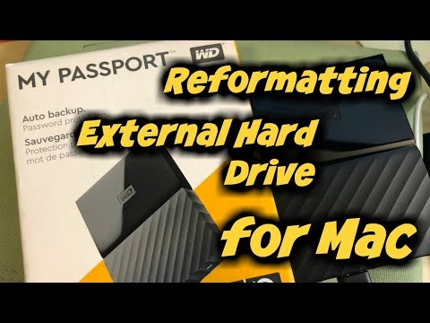 How To Reformat WD My Passport for Mac // MediaKits report not enough storage ERROR