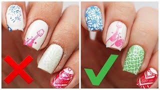 5 things youre doing wrong when stamping your nails