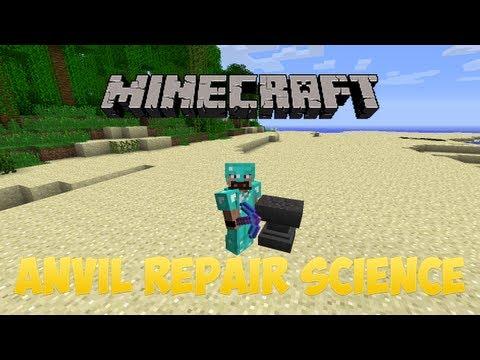 Minecraft Anvil Repairing Science [1.12.x]