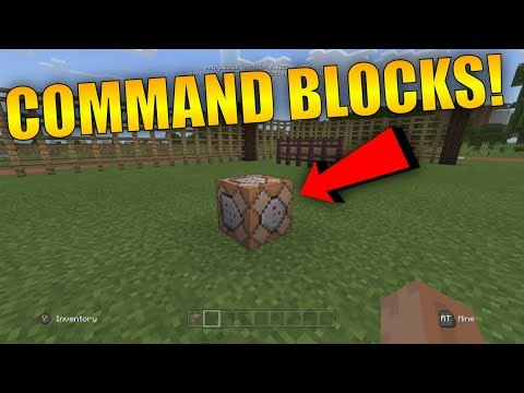 How To Get COMMAND BLOCKS On Minecraft Xbox! - Minecraft Better Together Update