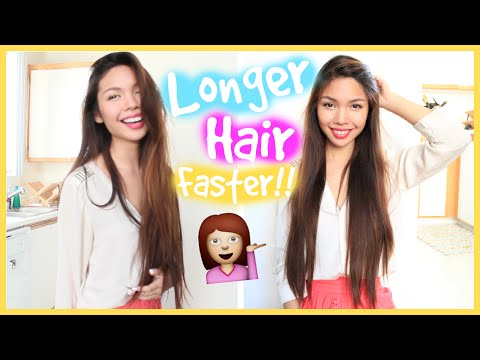 How To Grow Out Your Hair Longer & Faster! | MissTiffanyMa