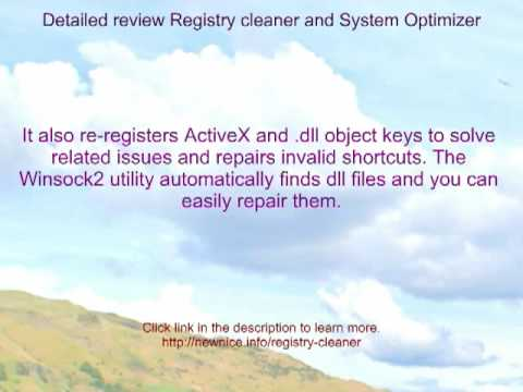 Microsoft windows xp registry cleaner