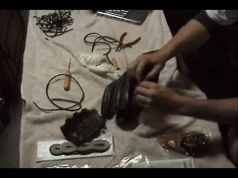 How To Relace or Restring the Pinkie, Thumb, and Wrist of a Baseball Glove (4 of 6)