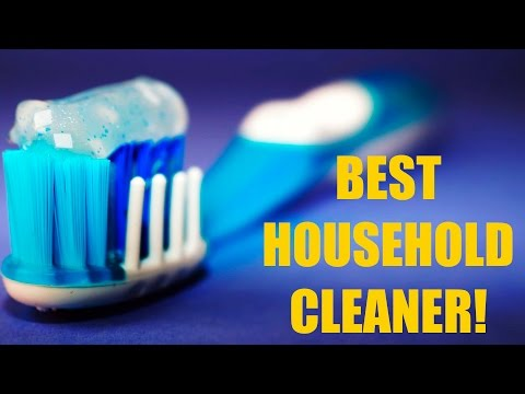 10 Easy Ways Toothpaste can Replace Common Household Products!