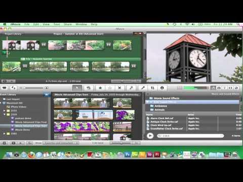 iMovie 09 - Adding Sound Effects (29)