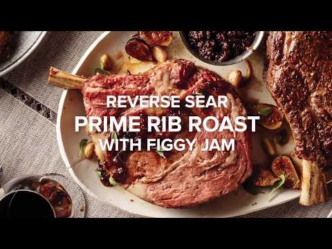Omaha Steaks Reverse-Sear Holiday Beef Roast