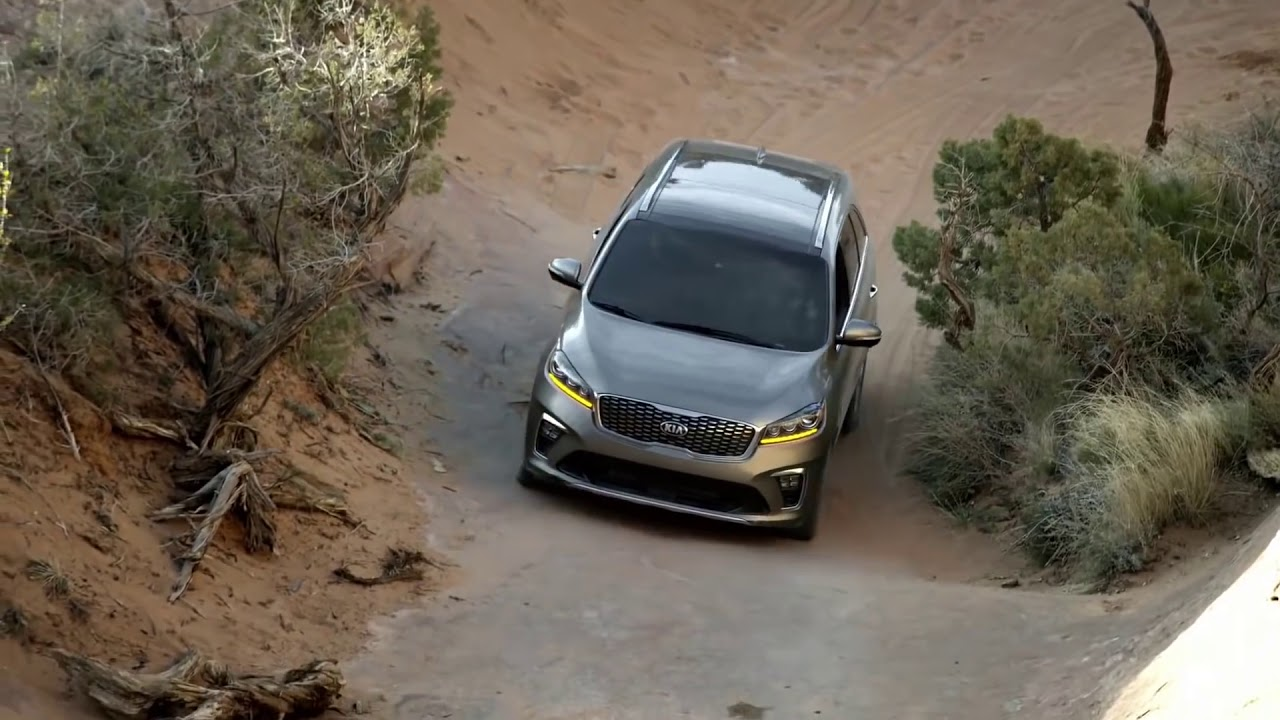 KIA Sorento Attempts Hell's Gate in Moab